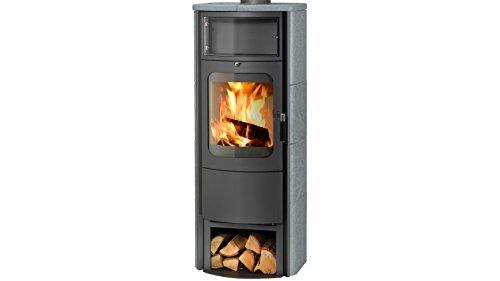 Preisvergleich Produktbild HARK Kaminofen Opera B Grande, Naturstein, 7 kW, Dauerbrand, mit Holzfach