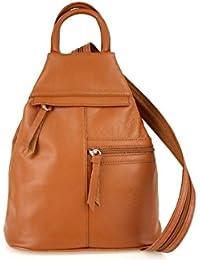 Bolsos Zapatos para mochila es Bolsos Marrón y Amazon mujer qxwOET1
