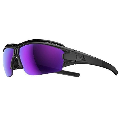 Adidas Brille evil eye halfrim pro ad07 - 6600 coal matt (X-Small)