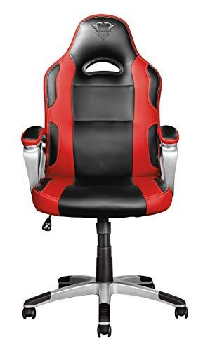 31zq7CeRY%2BL - Trust Gaming GXT 705 Ryon Silla para Gaming, Rojo, 77 x 33 x 65 cm