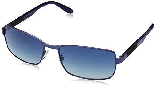 Carrera 8017/S 1D, Montures de Lunettes Mixte Adulte, Noir (Mttblue Blue), 58