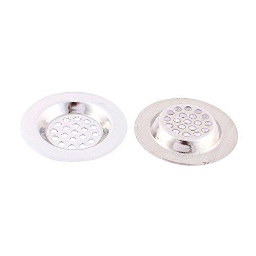 Preisvergleich Produktbild 2 Stk Edelstahl Waschbecken Sieb Abfluss Filter Stopper 65mm Durchm
