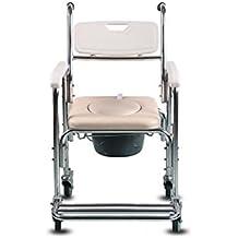 SOUMAO Las mujeres embarazadas sillas COMODA correa sillas de ruedas para los ancianos los ancianos la ducha WC silla Silla Con Inodoro