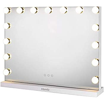 Chende White Lighted Makeup Vanity Mirror With Light