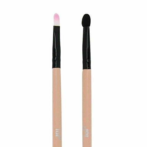Pinceau Double Embout Mousse & Biseauté Pink