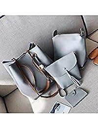 Tradico® New PU Leather Shoulder Bag Tote Purse Crossbody Messenger Satchel Women