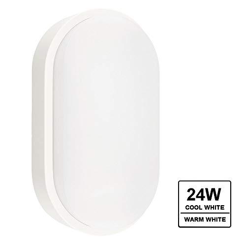 YAIZA! Luz Pared Montaje en Superficie Empotrado Exterior A Prueba de Agua IP65 Mamparos LED Morden...
