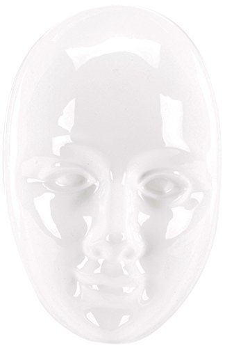 """Plaster Casting Mold 6.75""""X8.25""""-Face Mask"""