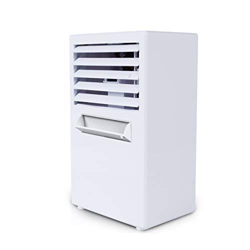 Sansella Diseño práctico Tamaño Compacto Uso Personal Aire Acondicionado Refrigerador de Aire Refrigerador de Escritorio para Oficina en el hogar Ventilador sin Cuchilla de enfriamiento