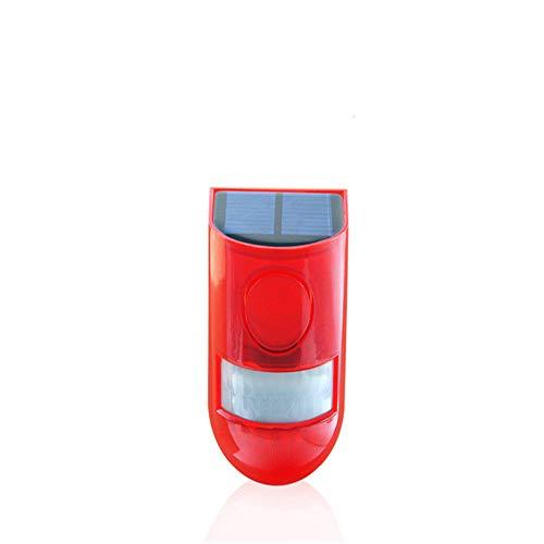 LED Solarleuchte Outdoor Wasserdicht Sound & Licht Warning Batterie Life Warning Light
