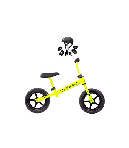 Grupo K-2 Minibike Bicicleta Niños Baby Star Amarillo