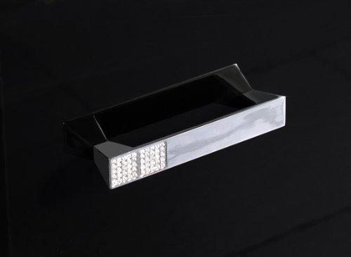 Schildmeyer 118524 Waschbeckenunterschrank, 60 x 63,5 x 32,5 cm, schwarz hochglanz - 2