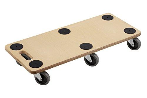 Transport Roller 680 x 290 mm, 300 kg, Plywood, TPE Test
