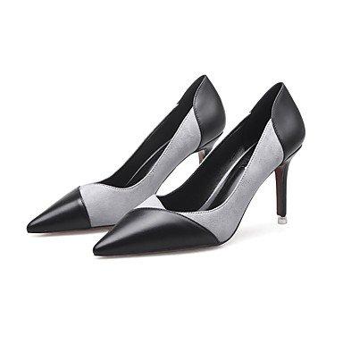 Moda donna sexy sandali scarpe donna Easy Street medio tacchi giunto Split Punta partito tacchi/Sera/vestito più colori disponibili Pink