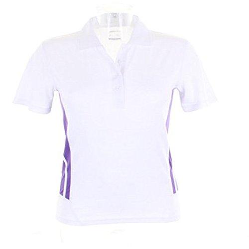 Gamegear - Polo - Femme Blanc - White / Purple
