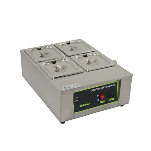 Horno de fusión de chocolate/Crisol/Máquina de fusión de agua Calefacción de aislamiento/Tienda...