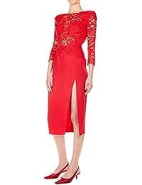27eaa3f4c08f4 Elisabetta Franchi Mujer AB77392E2T78 Rojo Viscosa Vestido