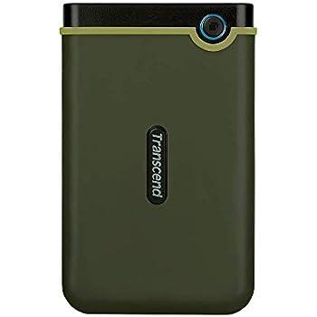 Transcend StoreJet 25M3G 2000GB Verde - Disco Duro Externo (2000 GB, 2.5
