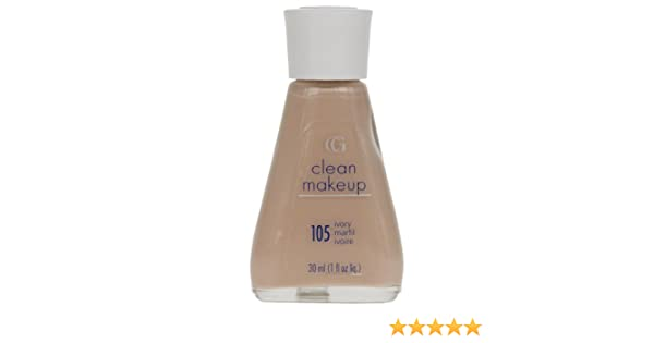 Make Up Stoel : Covergirl clean make up foundation ivory amazon beauty