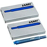 Lamy 1220536 T 10 Tintenpatronen-Set, 10 Stück blau