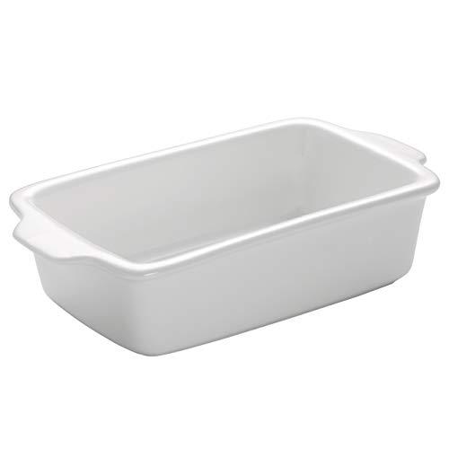 Maxwell & Williams Kitchen Auflaufform, Porzellan, Weiß, 26x14x6,6