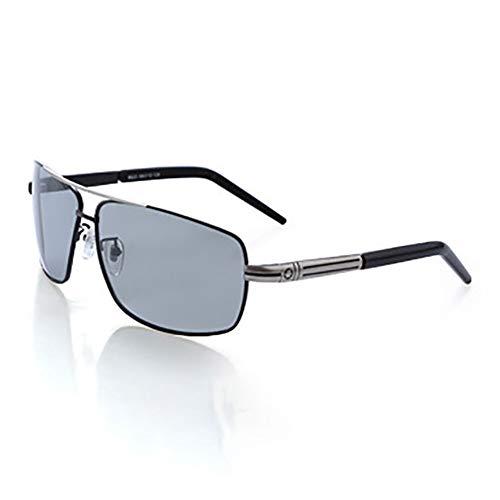 SJZV Sonnenbrillen für Männer Explosionsgeschützte polarisierte Lichtverfärbung Reiten Fahren Brille