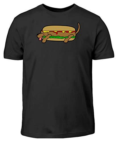 Generico Hot Dog in Tutti I Sensi - T-Shirt per Bambini -12/14 (152/164)-