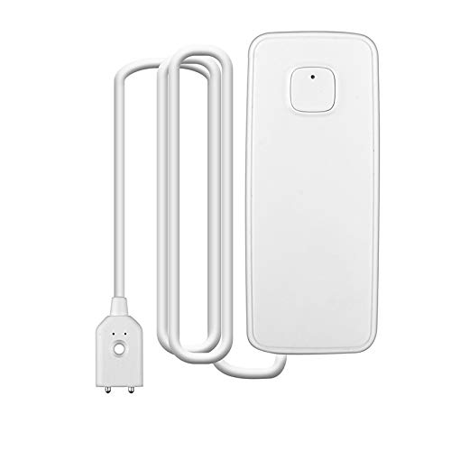 TOOGOO Wifi Wasser Sensor Wasser Leck Suchger?t Wasser Stand Leckage Sensor Alarm Smart House Arbeitet Mit Alexa Home Ifttt - Leck-sensor