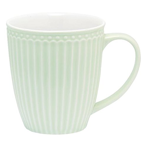 GreenGate - Tasse - Henkeltasse - Kaffeetasse - Mug - Alice - Pastell grün - Porzellan - 300 ml Alice Grün