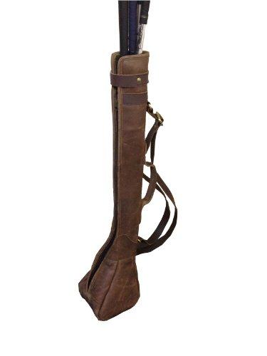 Leather Golf Club Pencil Bag