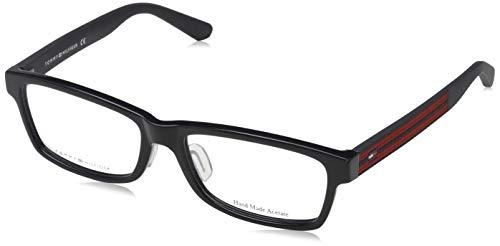 Tommy Hilfiger Unisex-Erwachsene 827886398423 Brillengestelle, Schwarz, 55