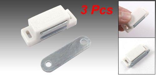 3PCS Schrank Magnetverschluss weiß Klampe D Arret De Schloss