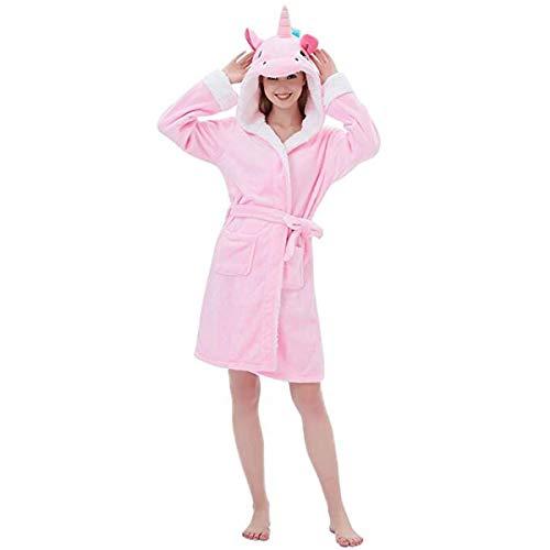 Regalo Unicornio Albornoz Mujer Camisones Niña Animales