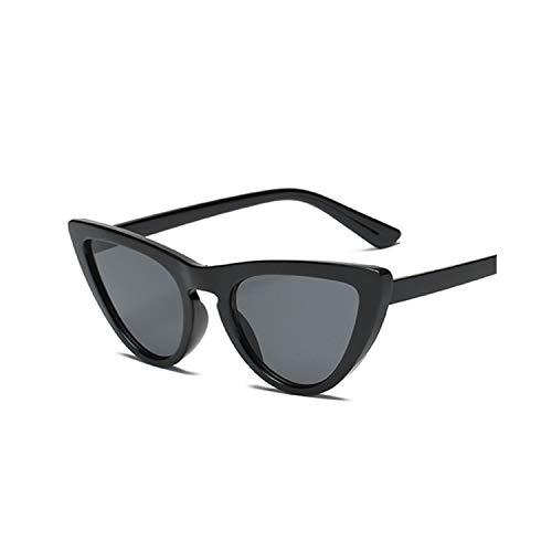 Sport-Sonnenbrillen, Vintage Sonnenbrillen, New Women Cat Eye Sunglasses Fashion Spiegel Cat Eye Sun Glasses For Ladies UV400 Black