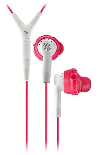 Yurbuds by JBL Inspire 400 In-Ear Sport Kopfhörer (Tasten-Fernbedienung/Mikrofon mit Lautstärkeregelung, geeignet für Apple iOS Geräten) pink/weiß thumbnail