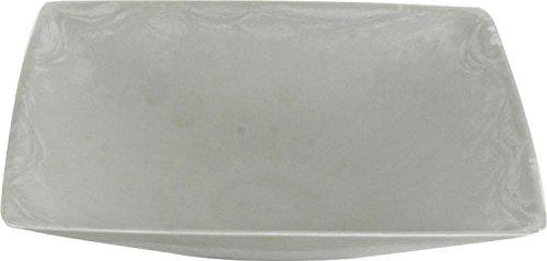 CH Trading-Cuenco Decorativo Gris Claro plástico
