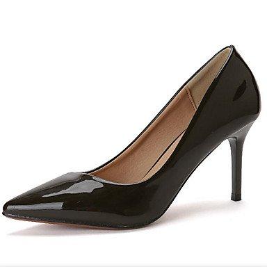 Zormey Les Talons Des Femmes Printemps Été Automne Club Confort Chaussures En Cuir Des Brevets Office &Amp; Partie De Carrière &Amp; Tenue De Soirée À Talon Aiguille US8.5 / EU39 / UK6.5 / CN40