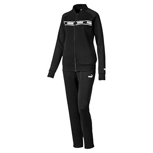 PUMA Damen Amplified Sweat Suit Trainingsanzug, Black, M