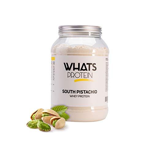Whats Protein 3 Komponenten Protein, mit Vitaminen und L-Carnitin, Pistazie (South Pistachio),750g