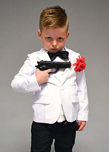 Bond Kostüm Kinder James - Magic Box Int. Kindergröße James Bond Style Spy Kostüm EU110-116 (5-6years)