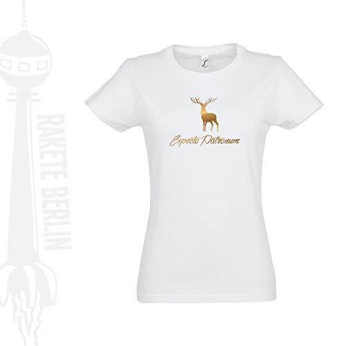 Damen T-Shirt \'Expecto Patronum - Hirsch\' Baumwolle