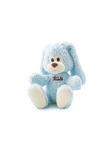 Trudi 23791, Peluche, Coniglio, 26 cm, colore: Blu