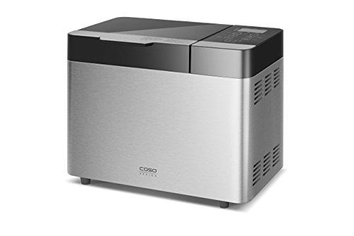 Caso BM 1000 Design-Brotbackautomat, mit Faltknethaken, Brotgröße und Kruste einstellbar, 13 Automatikprogramme, Programm für glutenfreies Brot, inkl. Timer