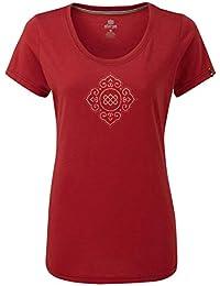 4e060d7027c Sherpa Moksha - T-Shirt Manches Courtes Femme - Rose 2019 Tshirt Manches  Courtes