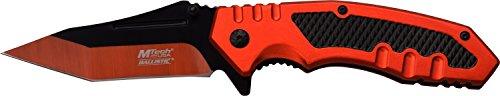 MTech USA Taschenmesser MT-A929 Serie, Messer ORANGE ALU Griff, scharfes Jagdmesser, Outdoormesser 8,89 cm ROSTFREI ORANGE Klinge, Klappmesser für  Angeln/ Jagd -