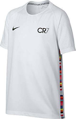 6062b127d Nike Merc B Nk Dry SS, Tshirt Bambino, Bianco, M