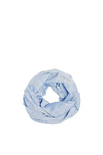 ESPRIT Accessoires Damen 049EA1Q002 Schal, Blau (Light Blue 440), One Size (Herstellergröße: 1SIZE) Light Blue Schal