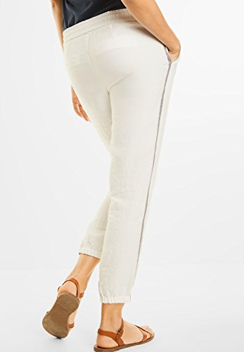 ... Street One Damen Pailletten Joggpants Leila off white (weiss) ...