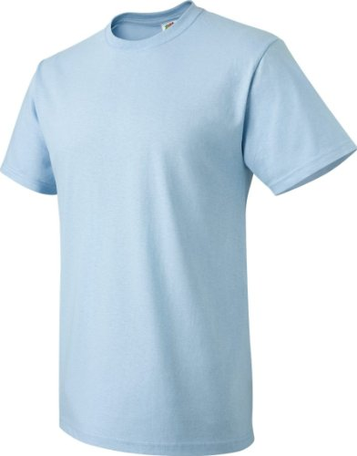 Fruit of the Loom T-Shirt Baumwolle, 3931 Light Blue