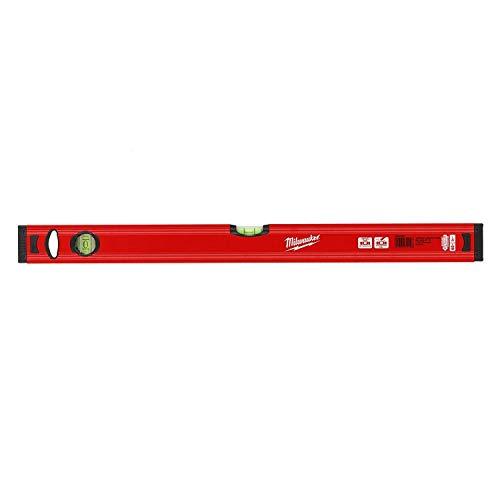 Milwaukee 4002395282449 493245909160cm/24redstick Slim Level-Rot/Schwarz